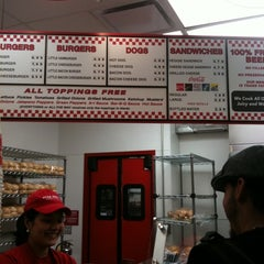 Photo taken at Five Guys by Dave K. on 8/9/2011