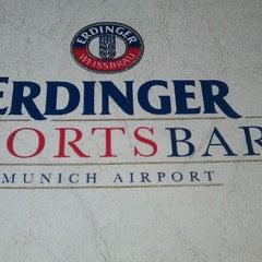 Photo taken at Erdinger Weißbier Sportsbar by Nils K. on 10/26/2011