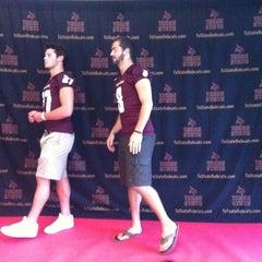 Photo taken at Bobcat Stadium by Carlos P. on 7/31/2012