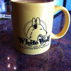 Photo taken at White Wolf Cafe & Bar by Becca C. on 9/2/2011