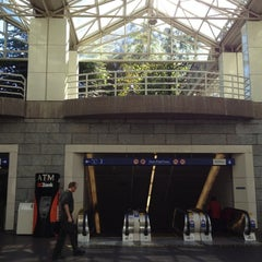 Photo taken at Burrard SkyTrain Station by James M. on 9/12/2012