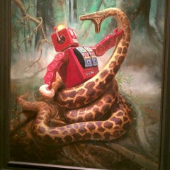 Photo taken at Corey Helford Gallery by Zack S. on 1/22/2012
