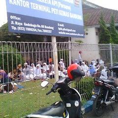 Photo taken at KANTOR ADMINISTRATOR TERMINAL PETI KEMAS GEDEBAGE BANDUNG by Adrianz すてきだね Z. on 4/27/2012