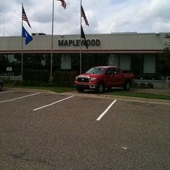 Photo taken at Maplewood Toyota by Kaytie J. on 8/5/2011