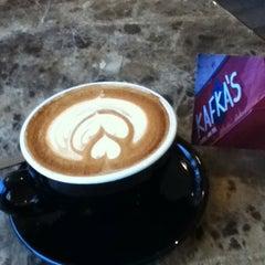 Photo taken at Kafka's Coffee & Tea by Bruce S. on 1/15/2011