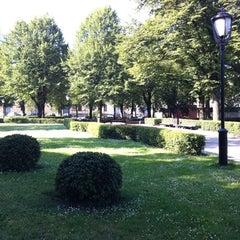 Photo taken at Jēkaba laukums (Jekaba square) by Linda on 7/8/2011