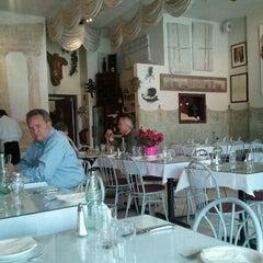 Photo taken at Epsilon Fine Greek Restaurant by Nicole G. on 6/13/2011