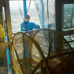 Photo taken at SkyJump by Meredith S. on 5/6/2012