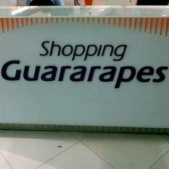 Photo taken at Shopping Guararapes by Carlos C. on 4/15/2012