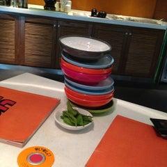 Photo taken at Yo! Sushi by Rabii D. on 3/28/2012