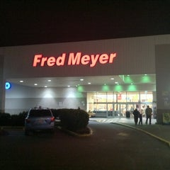 Photo taken at Fred Meyer by Erik T. on 12/22/2010
