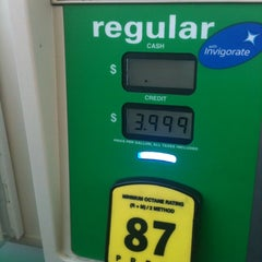Photo taken at BP by Mrs. Huxtable on 3/16/2012