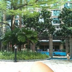 Photo taken at Pool · The Westin Kuala Lumpur 吉隆坡威斯汀酒店 by Maria C. on 7/14/2012