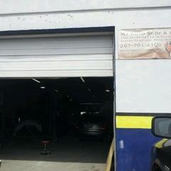 Photo taken at MJ Auto Body & Repair by Ariel N. on 4/14/2012