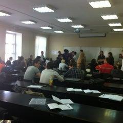 Photo taken at Экономический факультет СПбГУ by Ira E. on 5/19/2012