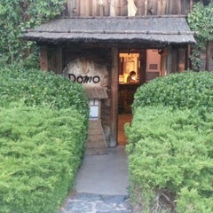 Photo taken at Domo Japanese Country Foods Restaurant by Mike on 8/8/2012