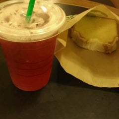 Photo taken at Starbucks by Audrey P. on 9/8/2012