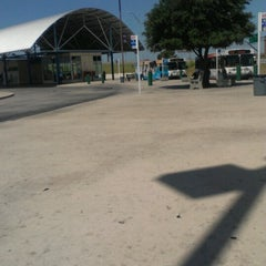 Photo taken at VIA Bus Randolph Park & Ride by Jessica W. on 8/27/2012