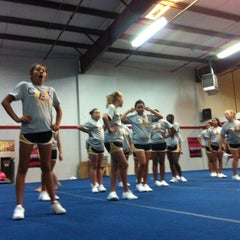 Photo taken at Tribe Cheer by Andrea W. on 6/15/2012
