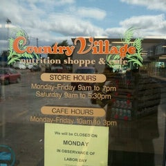 Photo taken at Country Village Nutrition Shoppe by Paul O. on 8/30/2011