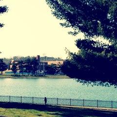 Photo taken at Lake Montebello by Bew R. on 3/14/2012