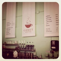 Photo taken at Comet Coffee by Ryan D. on 2/28/2011