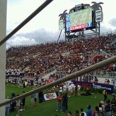 Photo taken at FAU Football Stadium by Chris S. on 10/15/2011