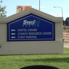 Photo taken at Swiftel Center by Carmen T. on 8/18/2012