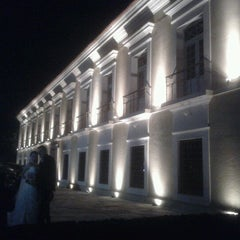 Photo taken at Casa das Onze Janelas by Rafael T. on 7/1/2012