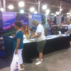 Photo taken at Visit Indiana State Fair Booth by Duane H. on 8/10/2011