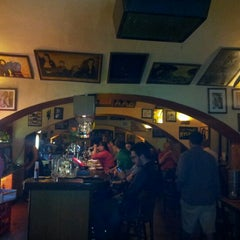 Photo taken at Restaurace Jáma | The Hollow by Max V. on 4/29/2012