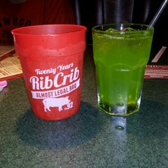 Photo taken at RibCrib BBQ & Grill by Kimberly W. on 9/7/2012