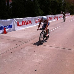Photo taken at Ironman TX by Juan M. on 5/19/2012