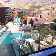 Photo taken at Sheraton Salobre Golf Resort & Spa by Nicole M. on 2/23/2012