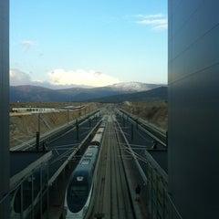 Photo taken at Estación de Segovia-Guiomar by Mherrerovelasco on 4/1/2012