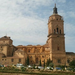 Photo taken at Catedral de Guadix by Tiziano C. on 9/7/2012