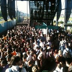 Photo taken at Estação Santo Amaro (CPTM) by Fernanda G. on 5/29/2012