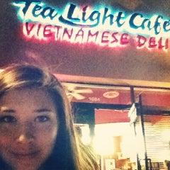 Photo taken at Tea Lite Cafe by Manda W. on 2/25/2012