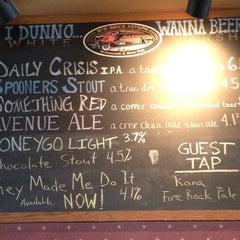 Photo taken at Red Brick Station Restaurant & Brew Pub by Lynda F. on 6/2/2012