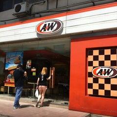 Photo taken at A&W by Desmond W. on 6/12/2012