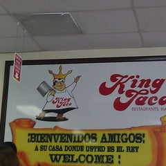 Photo taken at King Taco by Kwedi G. on 6/25/2012