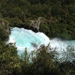 Photo taken at Huka Falls by Michael B. on 3/6/2012