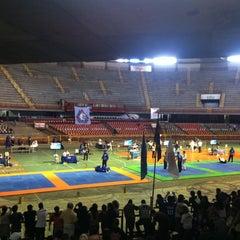 Photo taken at Estádio Jornalista Felipe Drummond (Mineirinho) by Débora T. on 8/19/2012