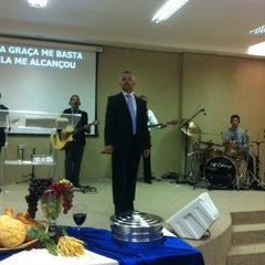 Photo taken at Igreja Verbo da Vida by Júnior d. on 4/1/2012