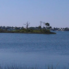 Photo taken at Innerarity Island by Pam H. on 6/2/2012