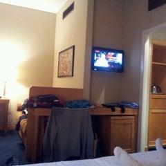 Photo taken at Hotel Artemide by Lisa L. on 2/3/2012