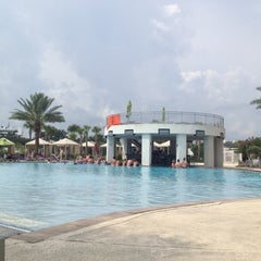 Photo taken at Hard Rock Hotel Pool by Lindzmaclaren on 8/2/2012