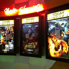 Photo taken at Golden Screen Cinemas (GSC) by cikpuanpijan c. on 2/29/2012