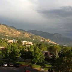 Photo taken at Salt Lake City Marriott University Park by David R. on 9/7/2012