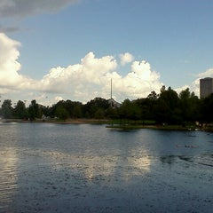 Photo taken at Hermann Park by A.J. D. on 7/18/2012